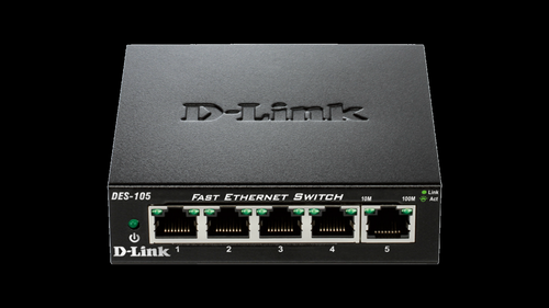 5 Port 10 100 Metal Desktop Switch