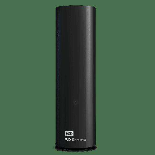 12TB WD Elements USB3 Black Ext HDD