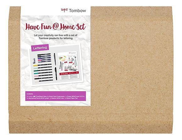 Tombow Have Fun At Home Lettering Set