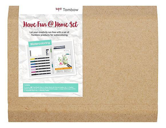 Tombow Have Fun At Home Watercoloring Set