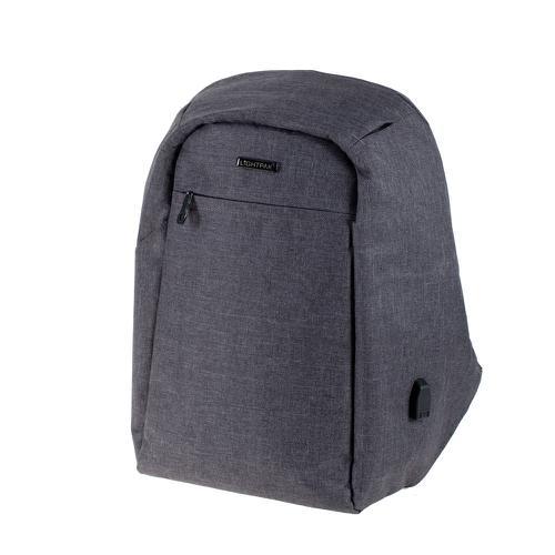 Lightpak SAFEPAK Backpack Padded Polyester 15in