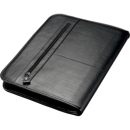 Alassio Limone A4 Organiser File Leather Look Black