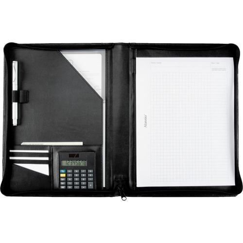 Alassio Catana A4 Writing Case Leather Black
