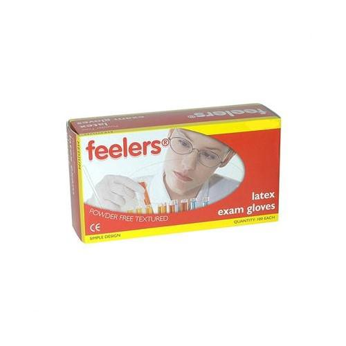 Value Powder Free Latex Gloves Large (Pack 100)