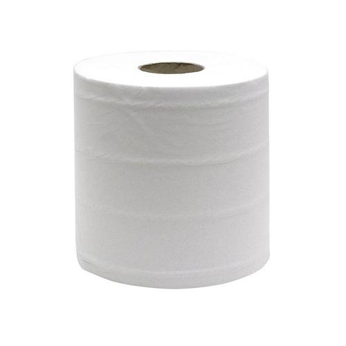 ValueX Mini Centrefeed Roll 1 Ply White (Pack 12)