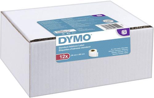 Dymo Label Writer Standard Address Labels 28mmx89mm 12 Pack