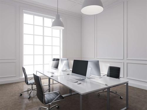 ExaScreen Desk Sneeze Guard Partition 60x78cm