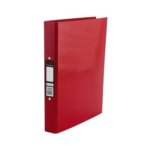 Pukka Brights Ring Binder A4 Red Box of 10