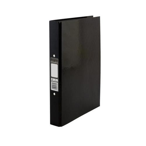 Pukka Brights Ring Binder A4 Black Box of 10