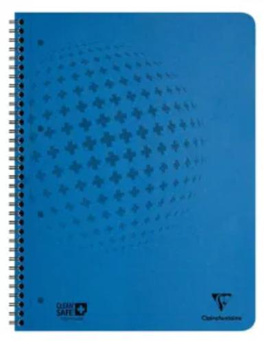 CleanSafe Notebook A4 Plus 60 Sheets Blue PK5