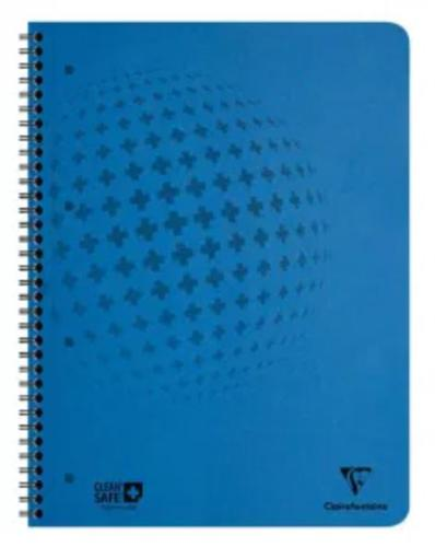 CleanSafe Notebook A4 60 Sheets Blue PK5
