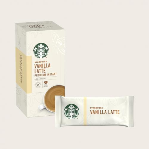 STARBUCKS Vanilla Latte 5 Sachets