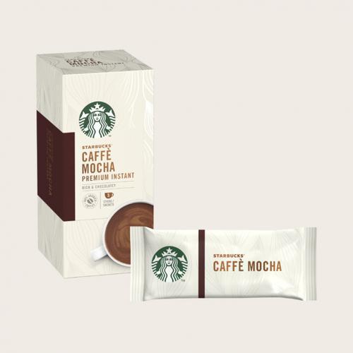 STARBUCKS Mocha Instant Coffee Sachets (Pack 5)