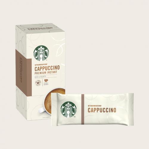 STARBUCKS Cappuccino 5 Sachets