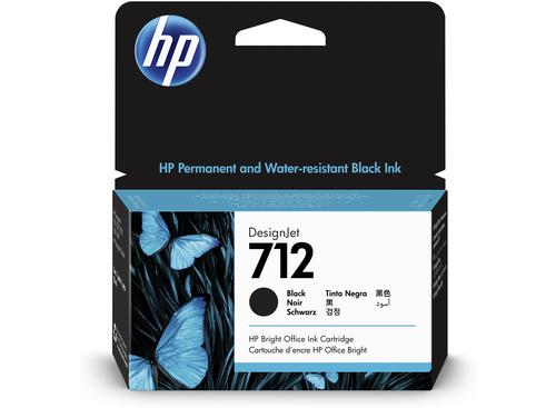 HP 712 Black Standard Capacity Ink Cartridge 38ml - 3ED70A