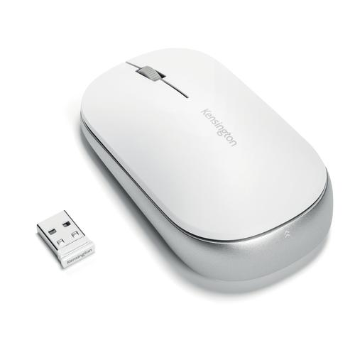Kensington SureTrack Dual Wireless Mouse White