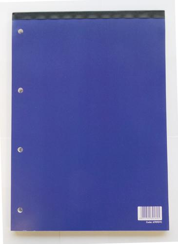 ValueX A4 Refill Pad Headbound Feint Ruled 160 Page (Pack 10)
