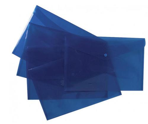 Value Stud Wallet A4+ Blue Pk5