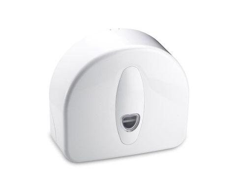 ValueX Jumbo Toilet Roll Dispenser Plastic White 1101168