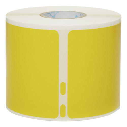 Dymo LW Shipping label or Name badge Yellow 54x101mm Roll 220 Labels