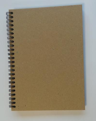 ValueX Wirebound Hard Cover Noteboook Recycled A5 160 Pages (Pack 5)