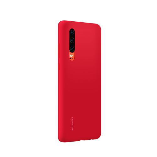 Huawei P30 Silicone Phone Case Red