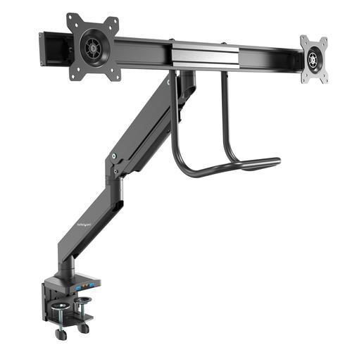 Desk Mount Dual Monitor Arm 2x USB 3.0