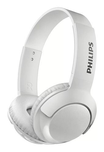 Bass Plus Bluetooth Headphones White