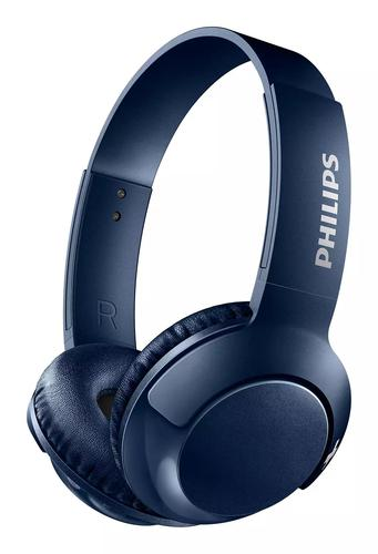 Bass Plus Bluetooth Headphones Blue