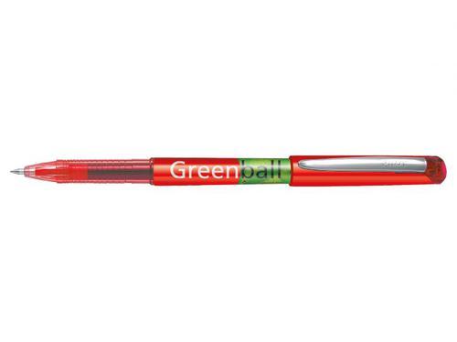 Pilot Begreen Greenball Liquid Ink 0.7mm Red PK10