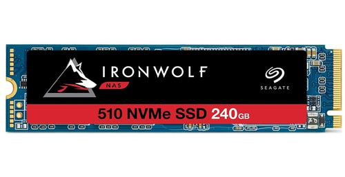 240GB IronWolf 510 PCIe NVMe Int SSD
