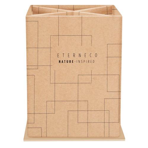Eterneco Squared Pen Holder 4 Compartments Cardboard