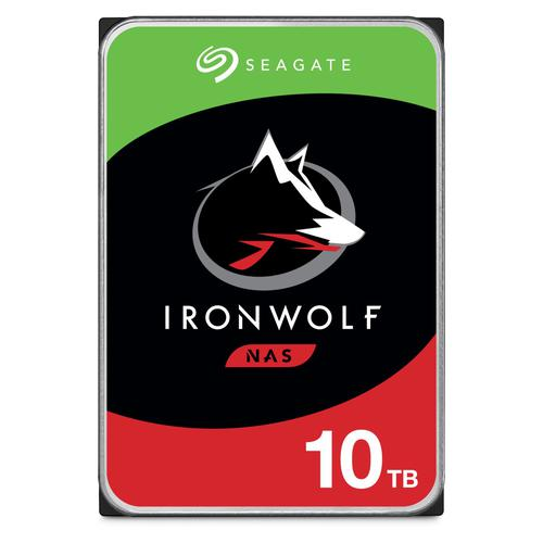 10TB IronWolf 72 SATA 3.5in Int HDD
