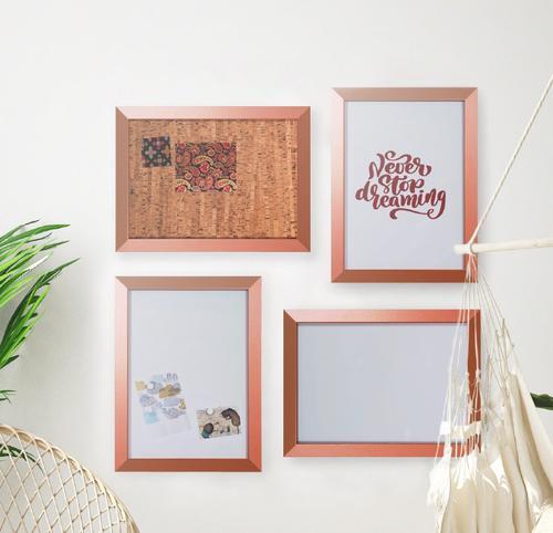 Bi-Office Copper board set 45x60 Pack 4