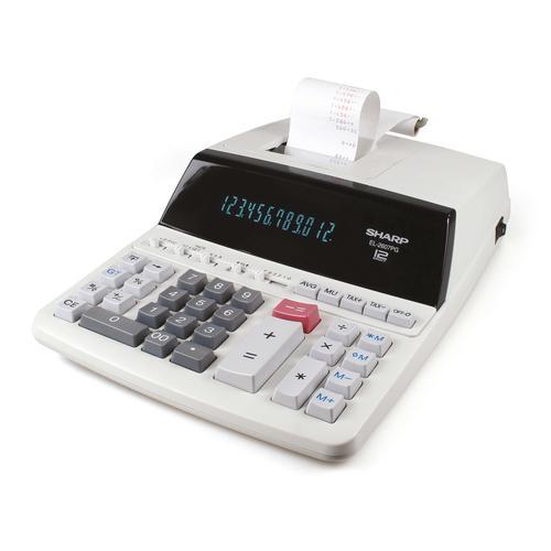 Sharp Printing Calculator 12 Digits SH-EL2607PGGYSE