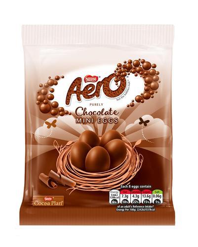 Aero Milk Mini Eggs Bag 70g