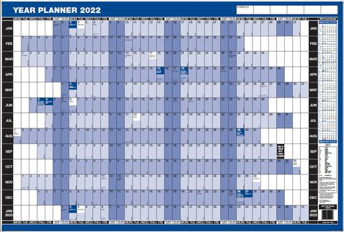 ValueX Year Planner Mounted 2022 YPM
