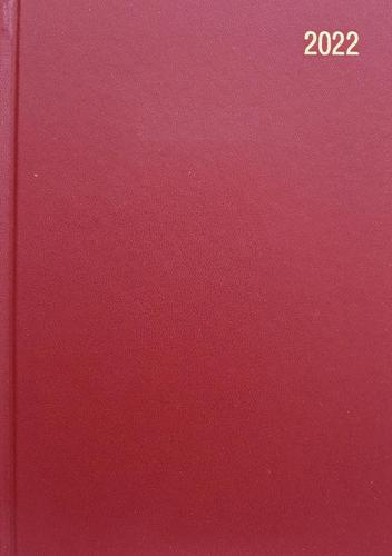 ValueX Diary A4 Day Per Page 2022 BURGDY BUSA41 Burg