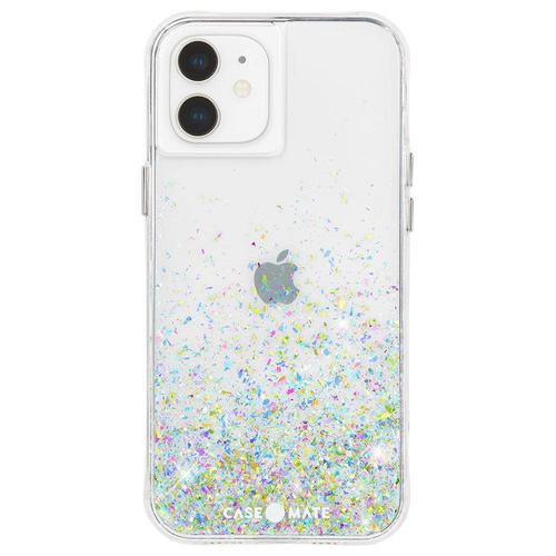 Case Mate Twinkle Confetti Ombre iPhone 12 Mini Phone Case Micropel Antimicrobial Protection Dust Resistant Scratch Resistant Drop Proof