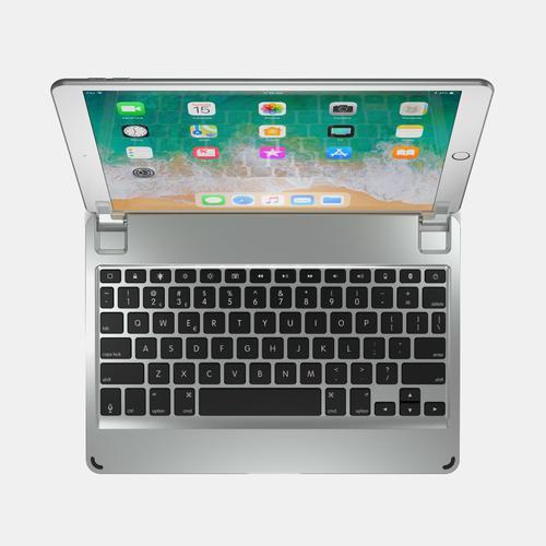 Brydge 10.5 Inches QWERTY English Bluetooth Wireless Keyboard for Apple iPad Pro Lightweight Aluminium Body