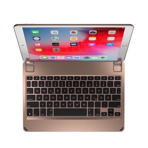 Brydge 10.5 Inch QWERTZ German Bluetooth Wireless Keyboard for Apple iPad Air 3rd Generation iPad Pro