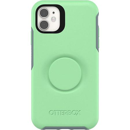 OtterBox Pop Symmetry Series Phone Case for Apple iPhone 11 Green Mint