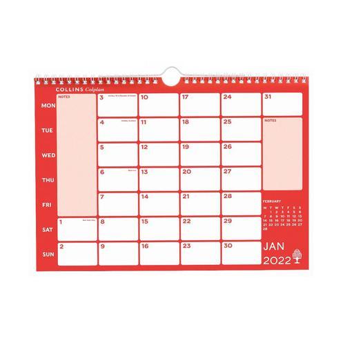 Colplan A4 2022 Memo Calendar CMCA4-22
