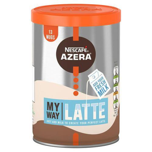 Nescafe Azera My Way Latte Instant Coffee 149.5g (Single Tin) 12463563