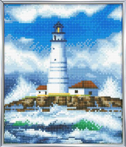 Crystal Art The Lighthouse 21 x 25cm Picture Frame Kit CAM-10