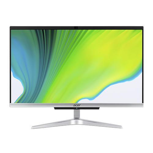 Acer Aspire C22 963 All In One 21.5 Inch Core i3 1005G1 10th Gen 8GB RAM 1TB HDD 128GB SSD Intel UHD Graphics Windows 10 Home Desktop PC