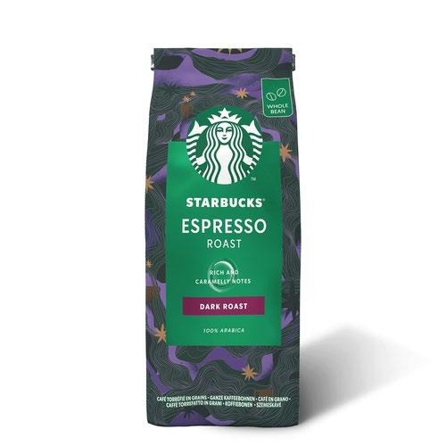 STARBUCKS DARK Espresso Roast Whole Coffee Bean 200g 12400227