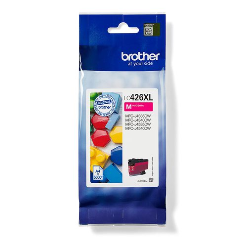 Brother Magenta High Capacity Ink Cartridge 5K pages - LC426XLM