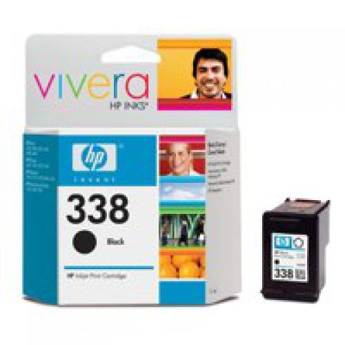 HP C8765E 338 Black Ink 11ml