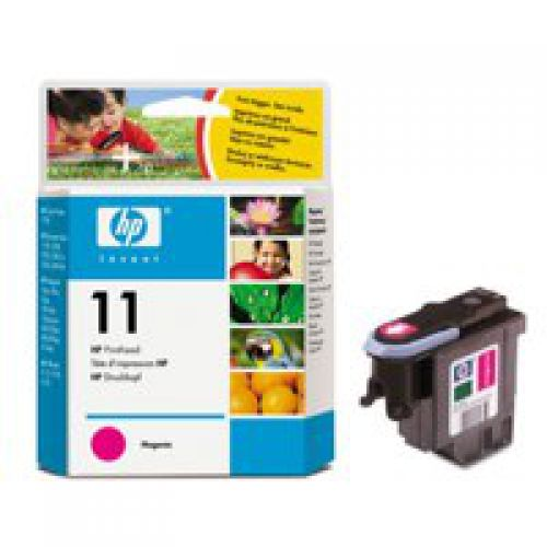 HP C4812A 11 Magenta Printhead 8ml